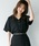Heather(ヘザー)の「リネンライクカイキンシャツ  832969(シャツ/ブラウス)」|ブラック