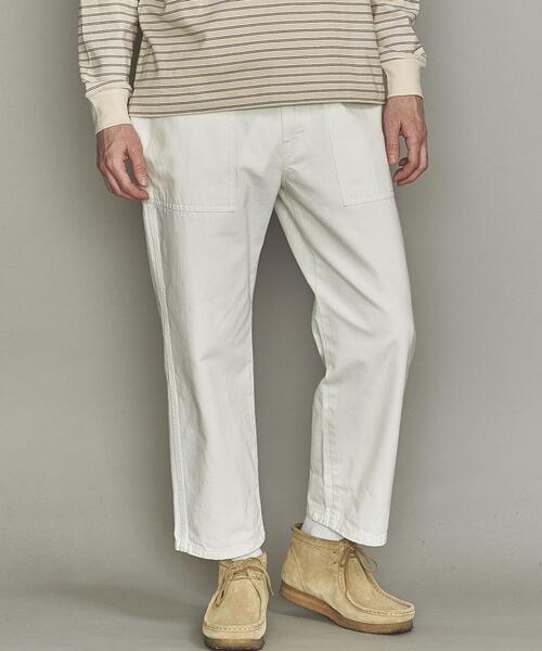 【別注】 <GUNG HO> WHITE BAKER/パンツ