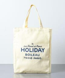<HOLIDAY BOILEAU(ホリディ ボワロ)>  THE TOTE BAG
