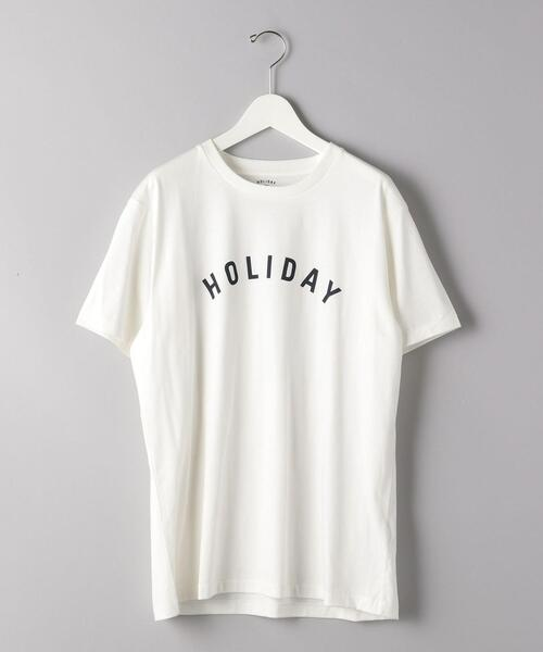 <HOLIDAY BOILEAU(ホリディ ボワロ)> THE CLASSIC HOLIDAY T-SHIRT