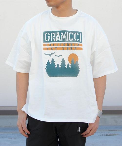 GRAMICCI/グラミチ サンセットスリットTEE SUNSET SLIT TEE