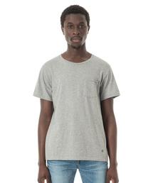 Sandinista(サンディニスタ)のCadet C/N Pocket Tee / クルーネックポケットTシャツ(Tシャツ/カットソー)