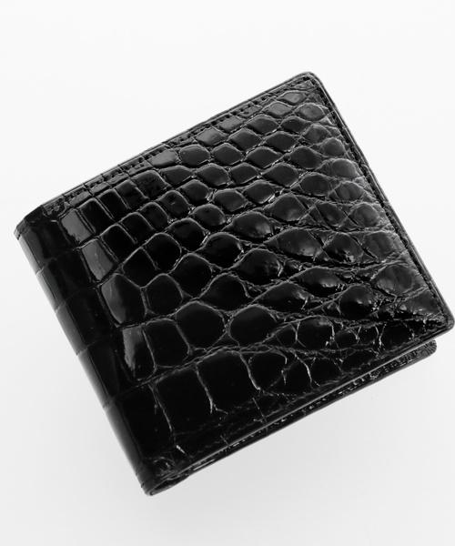 クロコダイル無双折り財布