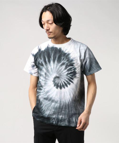 GOODWEAR / グッドウェア タイダイ スパイラルTシャツ TEE TYE DYE SPIRAL