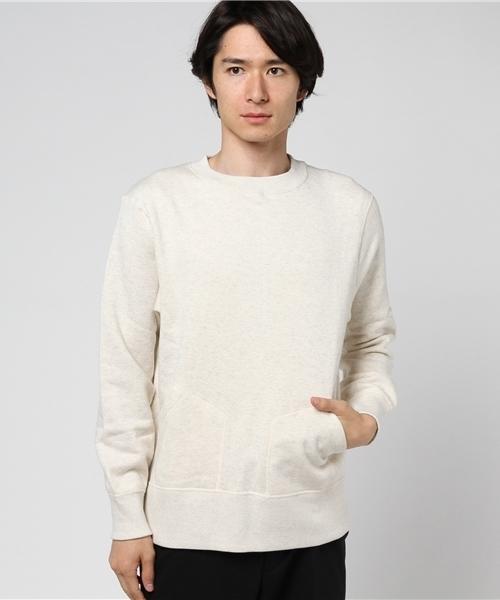 Sanca / サンカ 別注クルースウェット CREW SWEAT