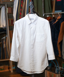grn(ジーアールエヌ)のコットンリネン 7分袖シャツ(シャツ/ブラウス)