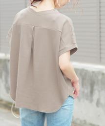 reca(レカ)のバックタック ワッフルカットソー(Tシャツ/カットソー)