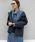 PICCIN(ピッチン)の「3WAY長袖ライナー付きショートモッズコート(モッズコート)」|ネイビー