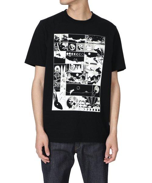 人気満点 ラビット Smith&ムーン プリントTシャツ【RED EAR】/ EAR】 292630 PS R011R(Tシャツ/カットソー)|Paul Smith(ポールスミス)のファッション通販, ニシグン:ceea1acf --- talkonomy.com