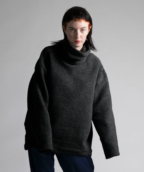 最新人気 【my beautiful landlet】 blending knit high neck sweater, 焼きまんじゅうshop  田中屋製菓 f326e834