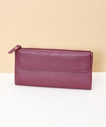 florist(フローリスト)の【牛革】シンプル大容量カード入れ長財布(財布)