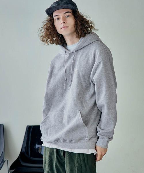 GILDAN/ギルダン 裏起毛 オーバーサイズ パーカー