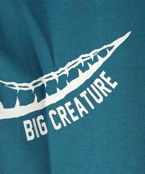 【150cmまで】恐竜プリント裏起毛トレーナー