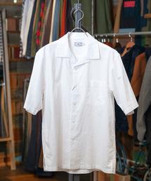grn(ジーアールエヌ)のコットンリネン S/Sシャツ(シャツ/ブラウス)