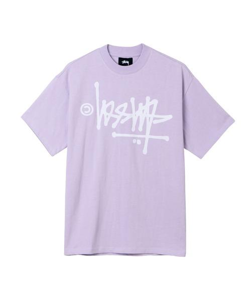 STUSSY(ステューシー)の「Oversized Flip Tee(Tシャツ/カットソー)」|ラベンダー