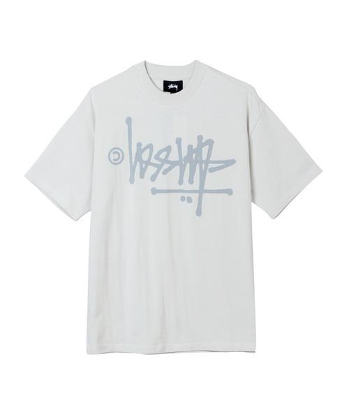 STUSSY(ステューシー)の「Oversized Flip Tee(Tシャツ/カットソー)」|ナチュラル