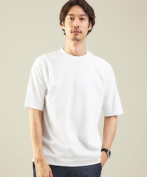 < 機能 / 接触冷感 > WTO COOL フィール クルーネック 半袖 Tシャツ