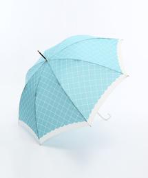 ファッショングッズ(ファッショングッズ)の「ハートチェック柄長傘(長傘)」