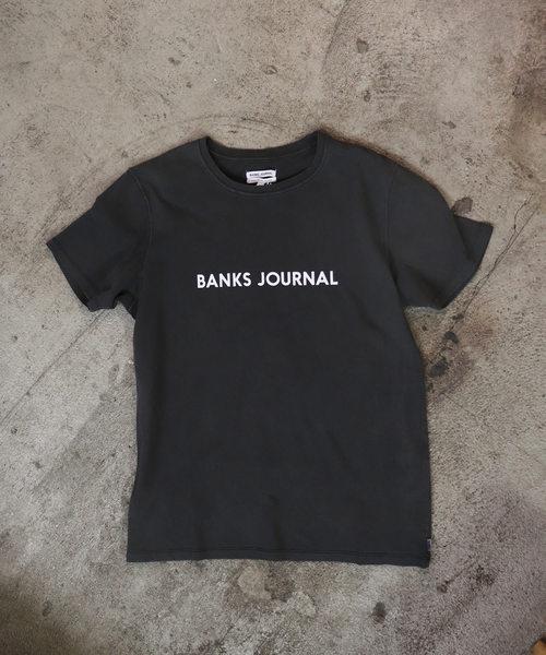 【BANKS/バンクス】LABEL STAPLE TEE SHIRT ATS0333