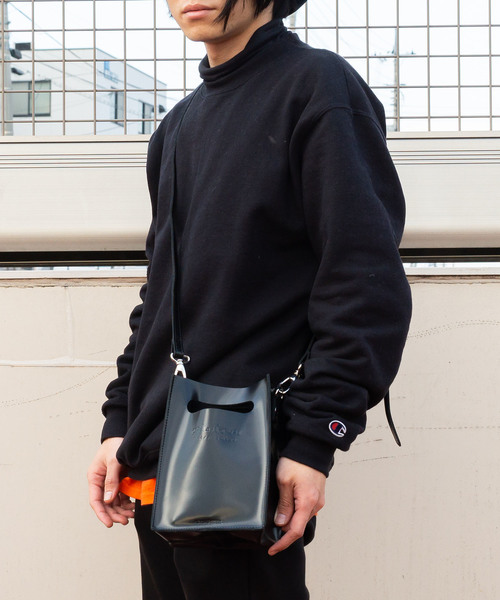 【ADAMPATECK/アダムパテック】patent leather mini pouch shoulder/ショルダー CAMAS