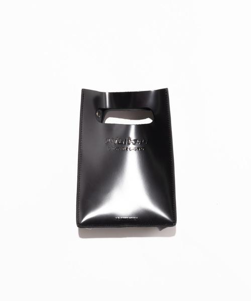 【ADAMPATECK/アダムパテック】patent leather mini pouch shoulder/ショルダー CAMAS