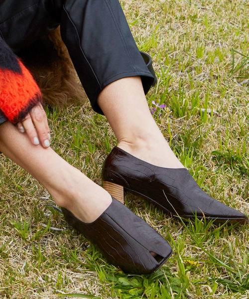 新作人気 JANESMITH ジェーンスミス/ OPENTOE HEEL PUMPS HEEL/ PUMPS オープントゥヒールパンプス/ 9WSHO-#131L(パンプス)|JANESMITH(ジェーンスミス)のファッション通販, シバヤママチ:09310ea0 --- 5613dcaibao.eu.org