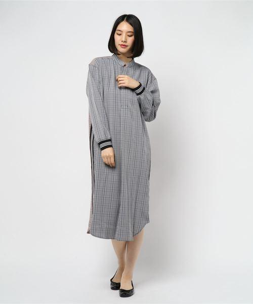 【海外 正規品】 (OKIRAKU)【OKIRAKU×ROSE OVER BUD】CHECK PULL PULL OVER DRESS WITH LINE(ワンピース) BUD】CHECK|OKIRAKU(オキラク)のファッション通販, ロータスパーツセンター:9191e578 --- kredo24.ru