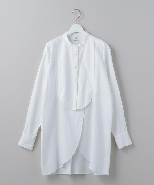 <6(ROKU)>DRESS SHIRT 2/シャツ