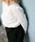 AZUL BY MOUSSY(アズールバイマウジー)の「ウエストゴムタックテーパードパンツ(パンツ)」|詳細画像