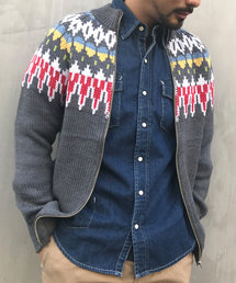 GREEN BOWL(グリーンボウル)のGREEN BOWL Cowichan Sweater/グリーンボウル ノルディック 柄 カウチン セーター(ニット/セーター)
