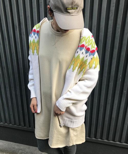 激安先着 GREEN BOWL Cowichan GREEN Sweater/グリーンボウル BOWL カウチン ノルディック 柄 カウチン セーター(ニット/セーター)|GREEN BOWL(グリーンボウル)のファッション通販, 雑貨屋よしい:6d2be15f --- skoda-tmn.ru