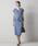 Emma Taylor(エマテイラー)の「【STYLEBAR】ニューペプラムドレス(ワンピース)」|サックスブルー