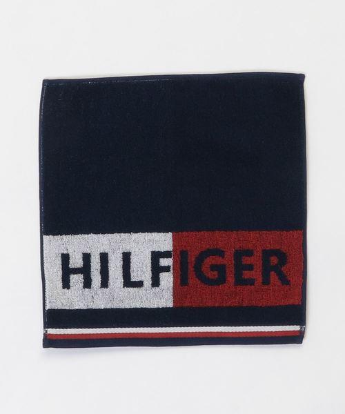 5eda0225904b TOMMY HILFIGER(トミーヒルフィガー)のHILFIGER ロゴタオル(ハンカチ/ハンドタオル)