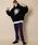 AIVER(アイバー)の「CASPER JOHN AIVER ドローコードチェックイージーパンツ(パンツ)」|詳細画像
