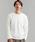 green label relaxing(グリーンレーベルリラクシング)の「CM ミラノポンチ クルー LS カットソー(Tシャツ/カットソー)」|ホワイト
