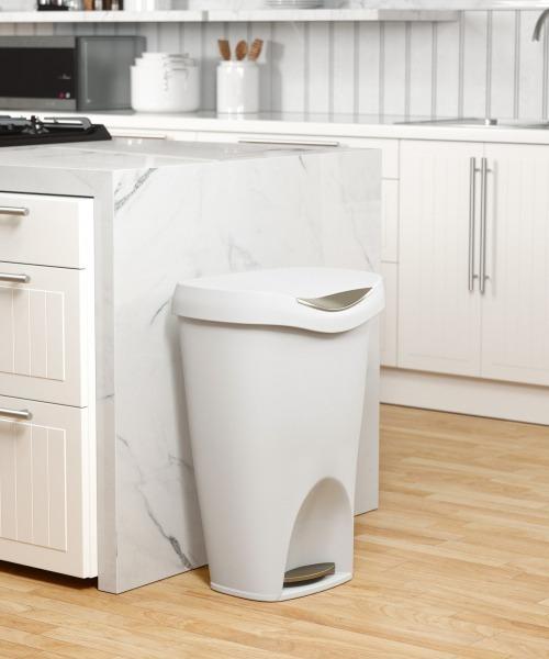 umbra/ブリムカン ゴミ箱 ホワイト