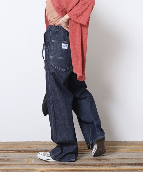 FREAK'S STORE(フリークスストア)の「【WEB限定】Lee/リー RELAX PAINTER PANTS/リラックスペインターパンツ(その他パンツ)」 ブルー