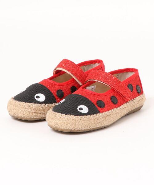 ∴【 EMU / エミュ 】てんとう虫バレエシューズ  Ladybird Nest  K12514
