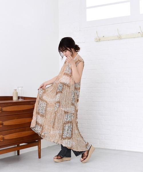 sheer tiered dress