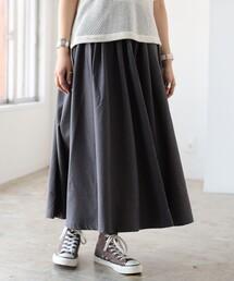 BEAMS BOY(ビームスボーイ)のGRAMICCI  × BEAMS BOY / 別注 ギャバ ロング スカート(スカート)