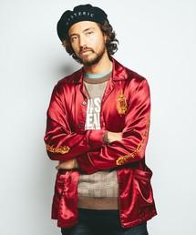 HYSTERIC DEVIL刺繍 シャツジャケット