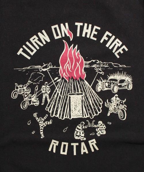 TURN ON THE FIRE HW Sweat ヘビーウェイト スウェット トレーナー