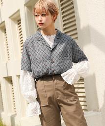 kutir(クティール)の半袖ガラシャツ(シャツ/ブラウス)