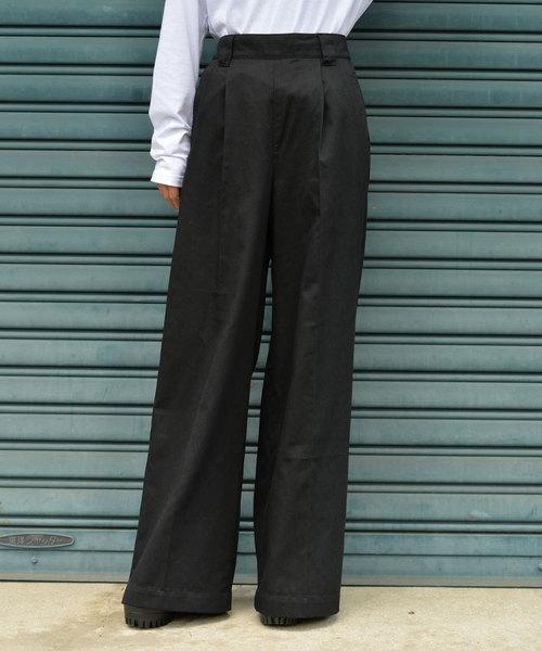 【年中無休】 Dickiesツイルワイドパンツ(パンツ) Dickies(ディッキーズ)のファッション通販, 信寿食:ae1b6c9f --- wm2018-infos.de
