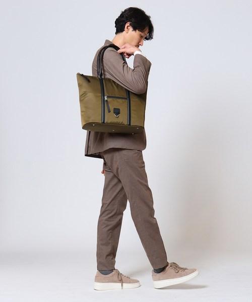 TAKEO KIKUCHI(タケオキクチ)の「ナイロン トートバッグ(トートバッグ)」|詳細画像