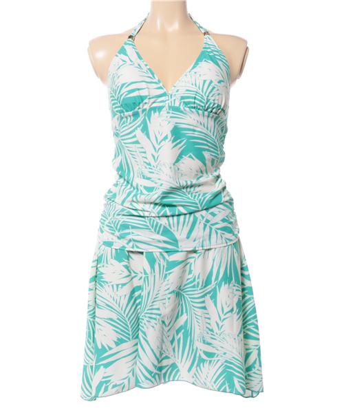 51488f50745f42 セール】【Coral veil(コーラルベール)】Leaf Shadow タンキニ 3点 ...