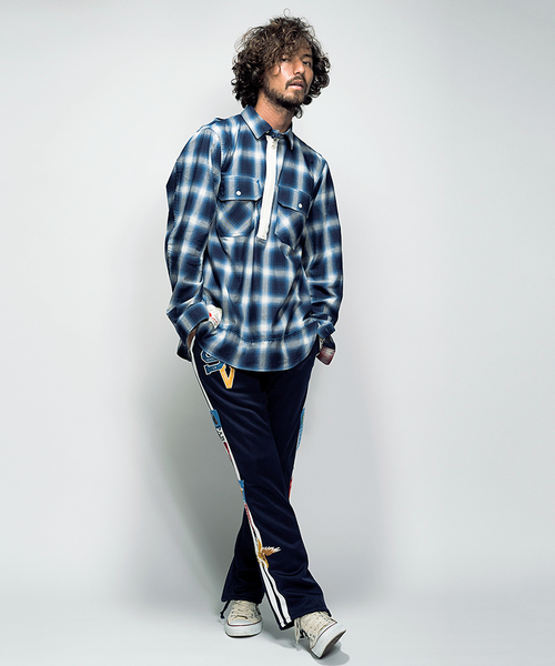 SEVESKIG CHECK OVER SHIRT SH-SV-HS-1003