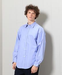 <H>DOUBLE CUFFS REGULAR COLLAR SHIRT/シャツ