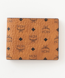 【MCM】二つ折り財布-VISETOS ORIGINAL FLAP WALLET/TWOFOLD SMALL- MXS8SVI35(財布)