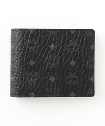 MCM(エムシーエム)の【MCM】二つ折り財布-VISETOS ORIGINAL FLAP WALLET/TWOFOLD SMALL- MXS8SVI35(財布)